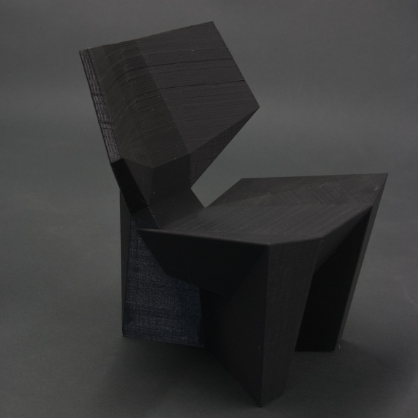 3D PRINTED MODEL - OBJECT STUDIO - 50 CHAIR