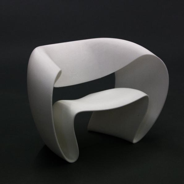 3D PRINTED MODEL - OBJECT STUDIO - RIBBON
