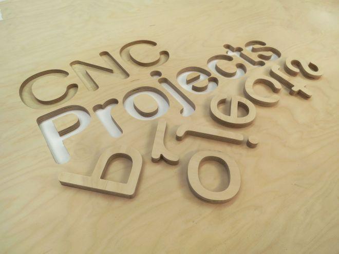 CNC Projects Logo - Cut