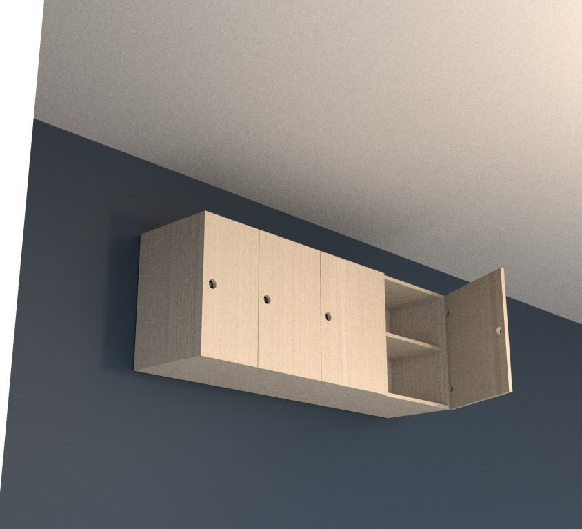 Wall unit – 1700mm wide